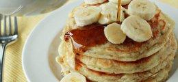 Tortitas americanas de plátano